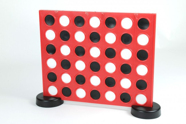 Connect Four style game for garden