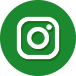 The Garden Guru Instagram Logo Button