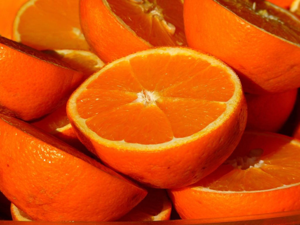 Oranges are a Natural Antihistamine