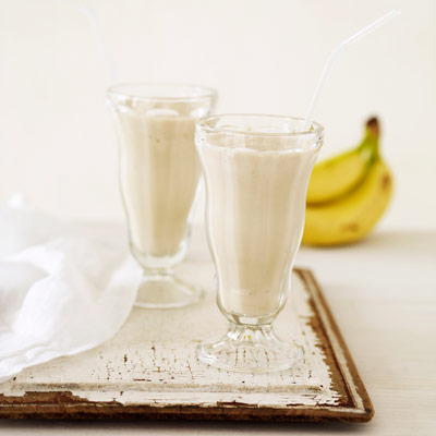 banana & peanut butter smoothie