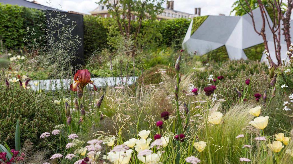 Bronze and copper Jeremy Vine garden