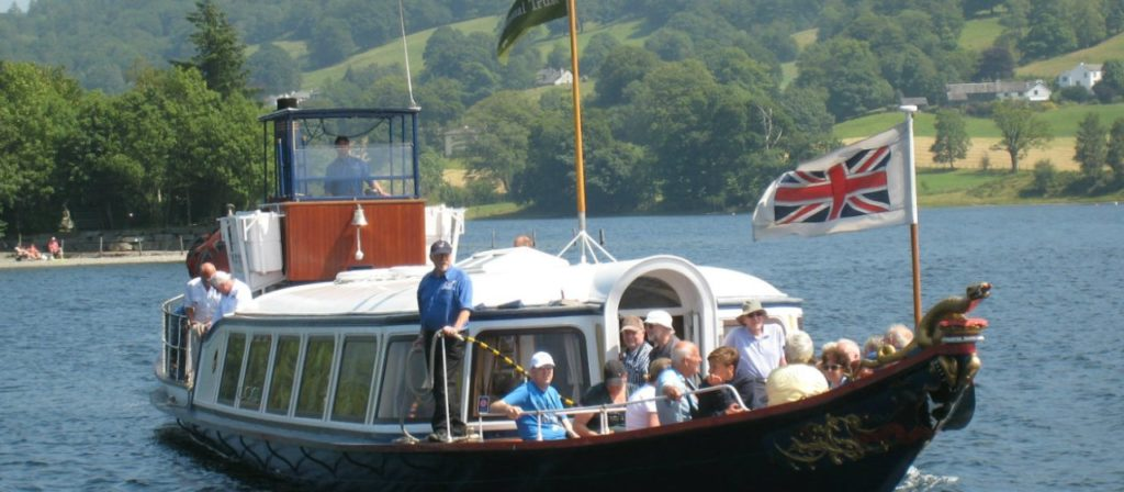 National Trust Steam Yacht Gondola