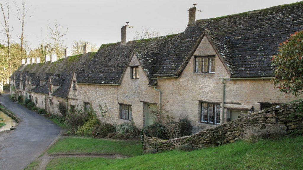 National Trust village