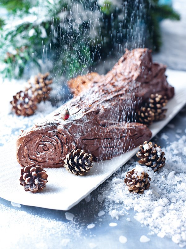 Christmas bakes - Yule log