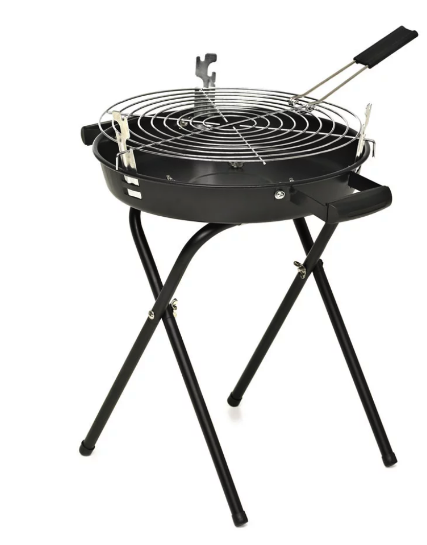 Round barbecue